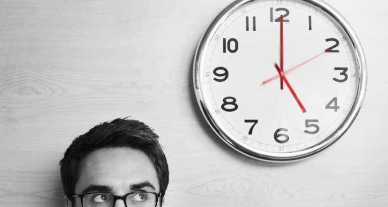 Tyranny of the clock in the human lives