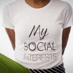 My Social Interests T-Shirt   Women